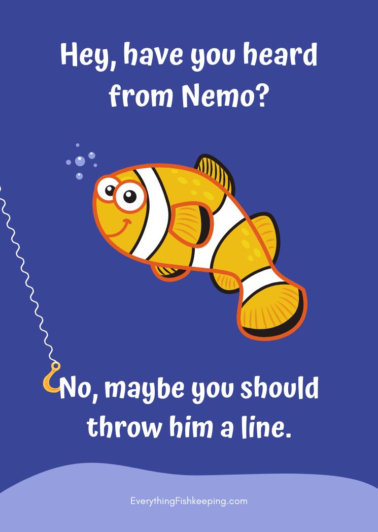 Clownfish Pun
